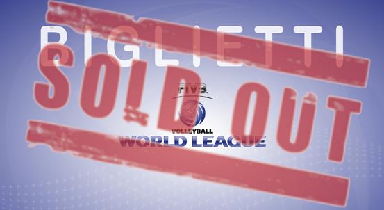 Biglietti World League 2015